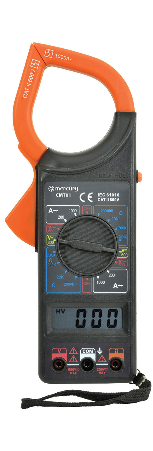 Clamp-on Digital Multitester - eav-online.com