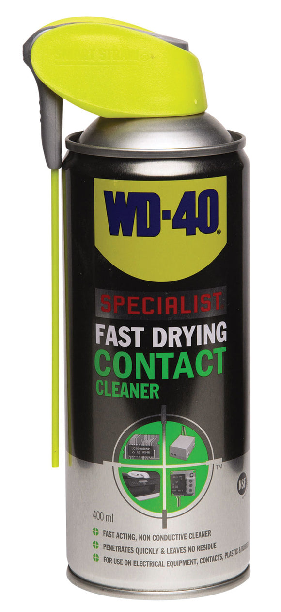WD-40 Specialist Fast Drying Contact Cleaner with Smart Straw 400ml - eav-online.com