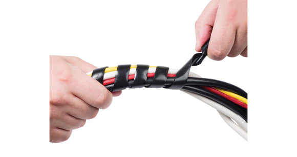 Cable Tidy Spiral Wrap 10-40mm - 2.5m - eav-online.com
