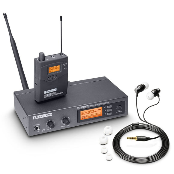 LD Systems MEI 1000 G2 - In-Ear Monitoring System wireless - eav-online.com