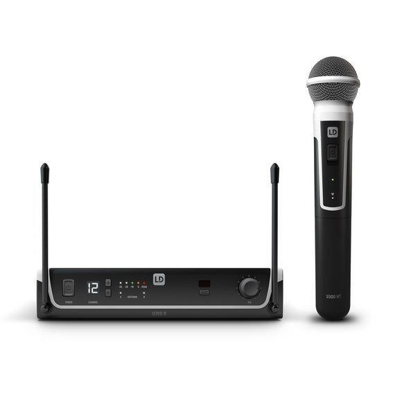 LD Systems U308 HHD - Wireless Microphone System with Dynamic Handheld Microphone - eav-online.com
