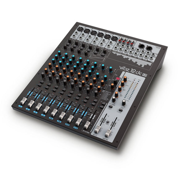 LD Systems VIBZ 12 DC - 12 Channel Mixing Console with DFX and Compressor - eav-online.com