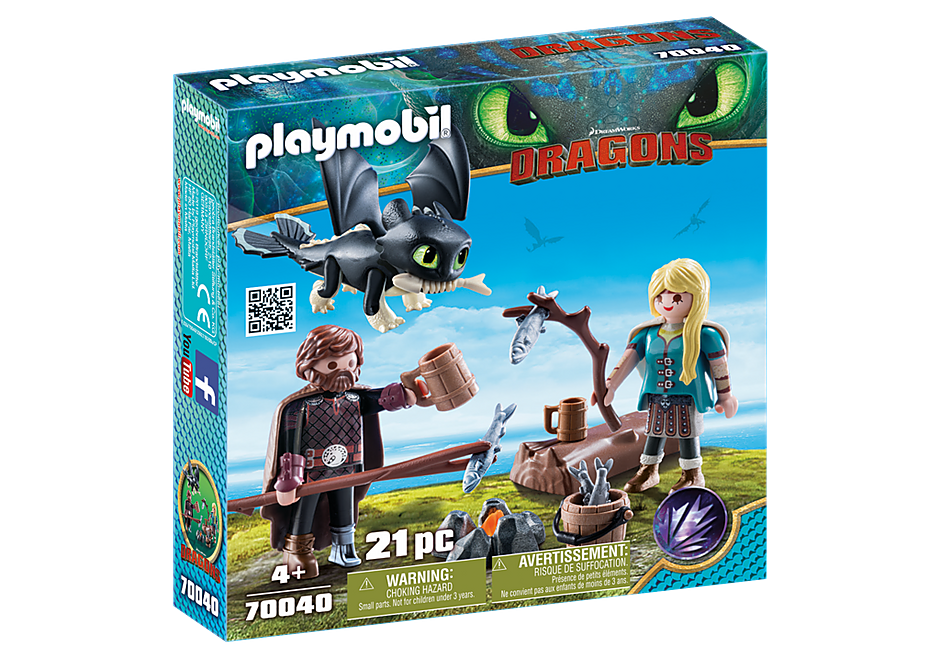 Playmobil | Dragons | 70040 Hiccup and Astrid