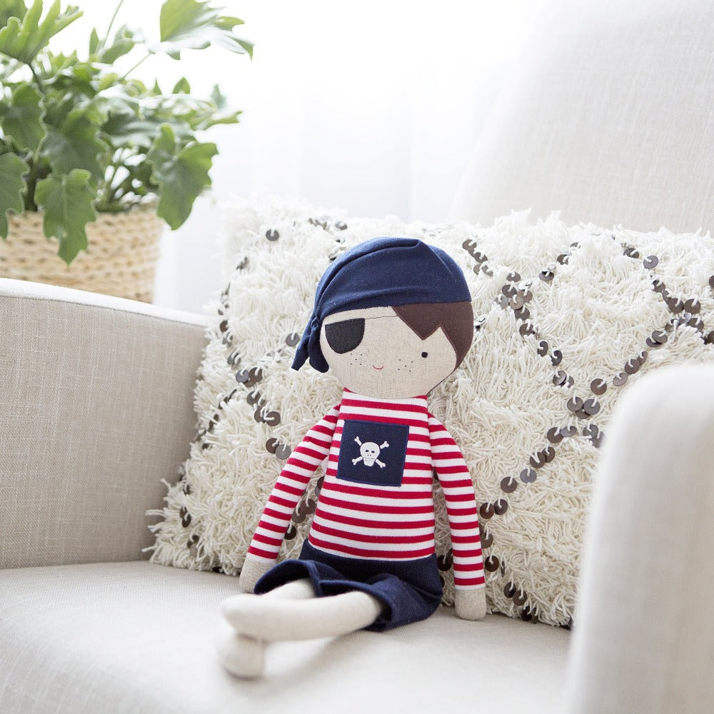 Alimrose | Linen Pirate Boy 50cm