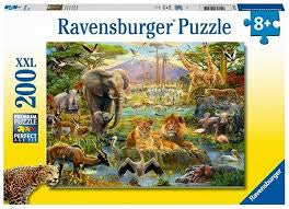 Ravensburger | 200pc | 128914 | Animals of the Savanna