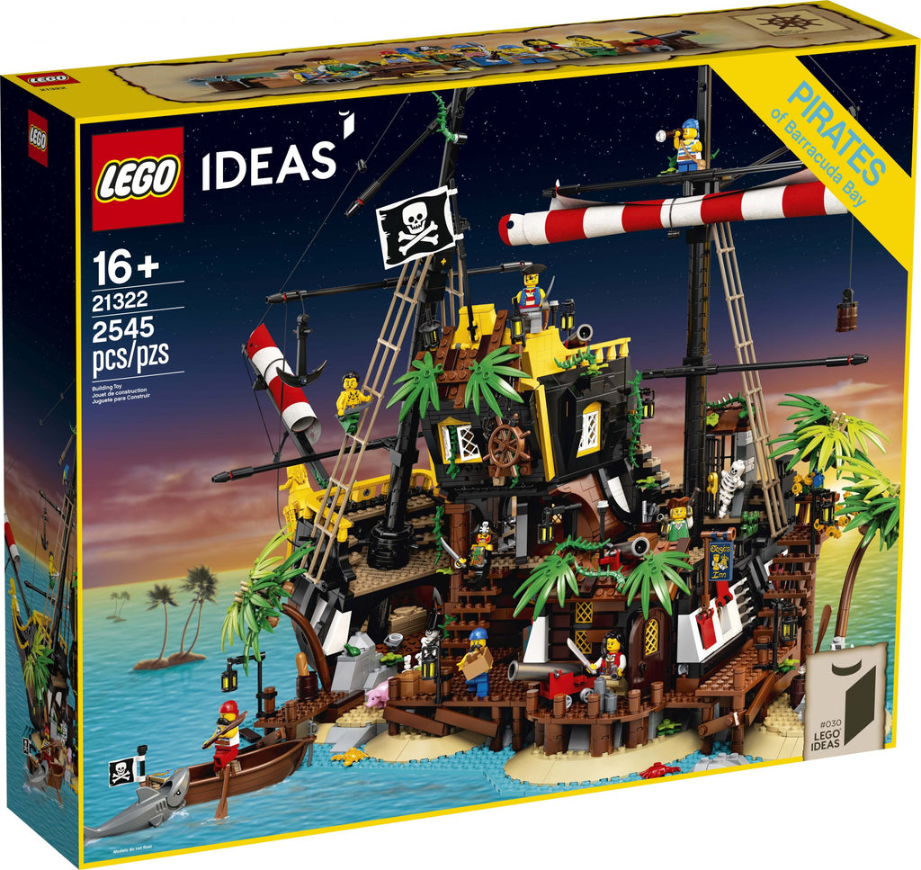 Lego | Ideas | 21322 Pirates of Baracuda Bay