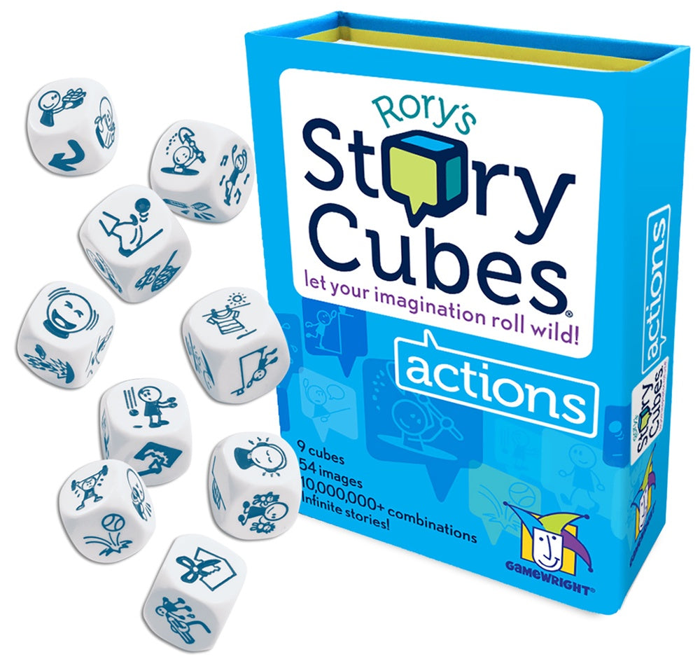 Gamewright | Story Cubes 9 pack | Actions