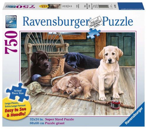 Ravensburger | 750pc | Large Format | 199396 | Ruff Day
