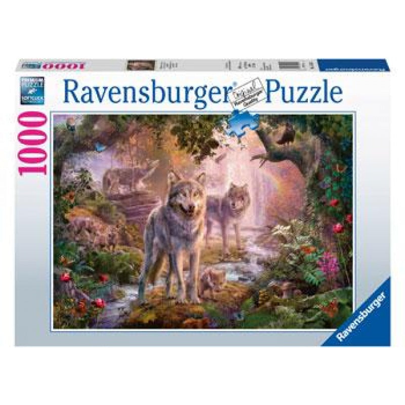 Ravensburger | 1000pc | 151851 Summer Wolves