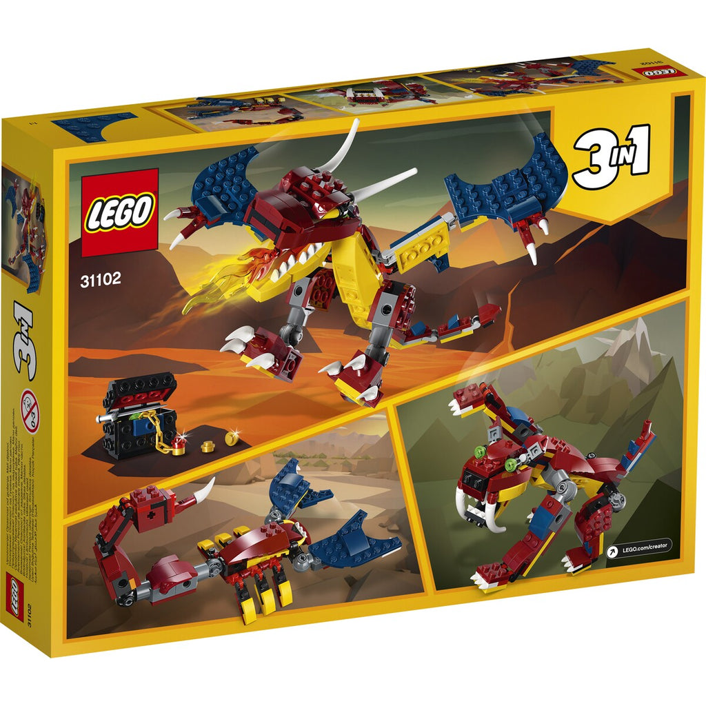 Lego | Creator | 31102 Fire Dragon