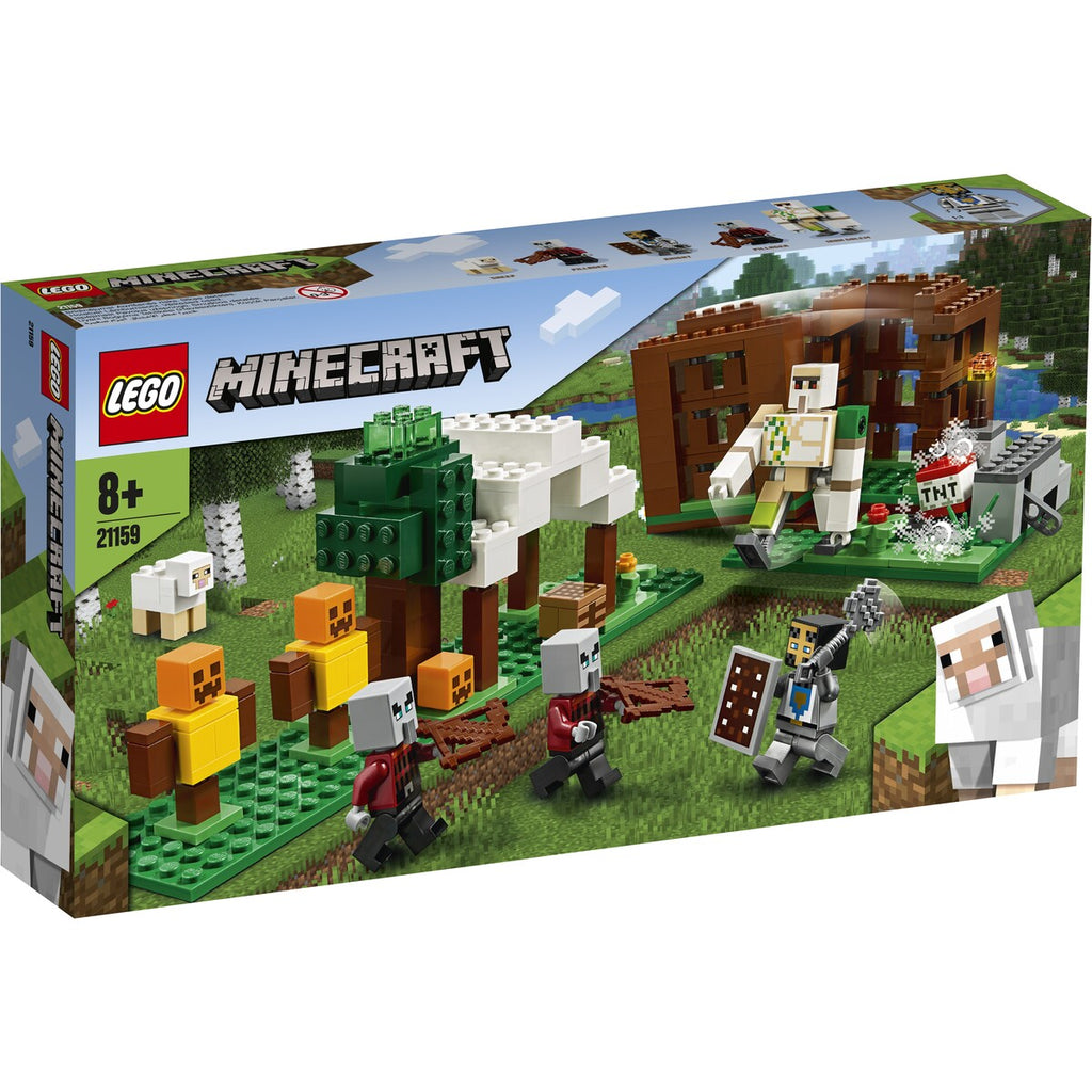 Lego | Minecraft | 21159  The Pillager Outpost
