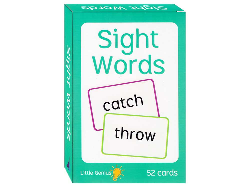 Little genius | Sight Words | Flash Cards