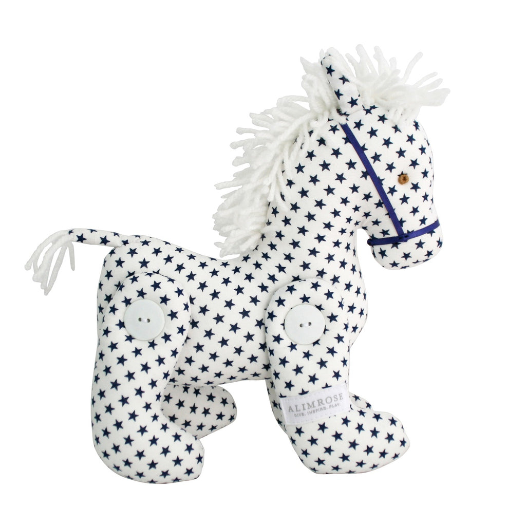 Alimrose | Navy Star Jointed Pony