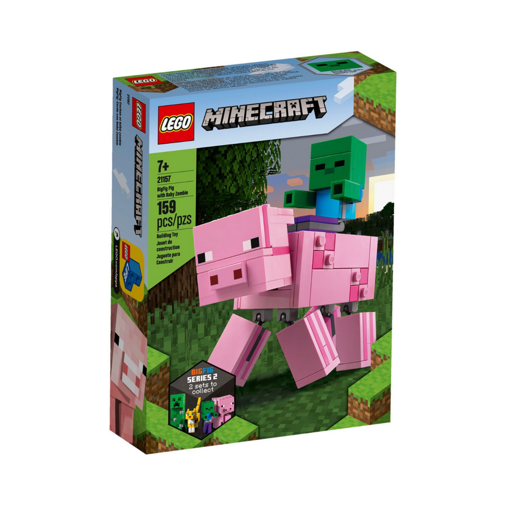 Lego | Minecraft | 21157 |  Big Fig Pig