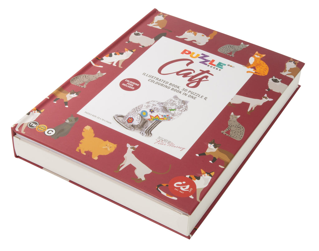 Puzzle Book | Cats