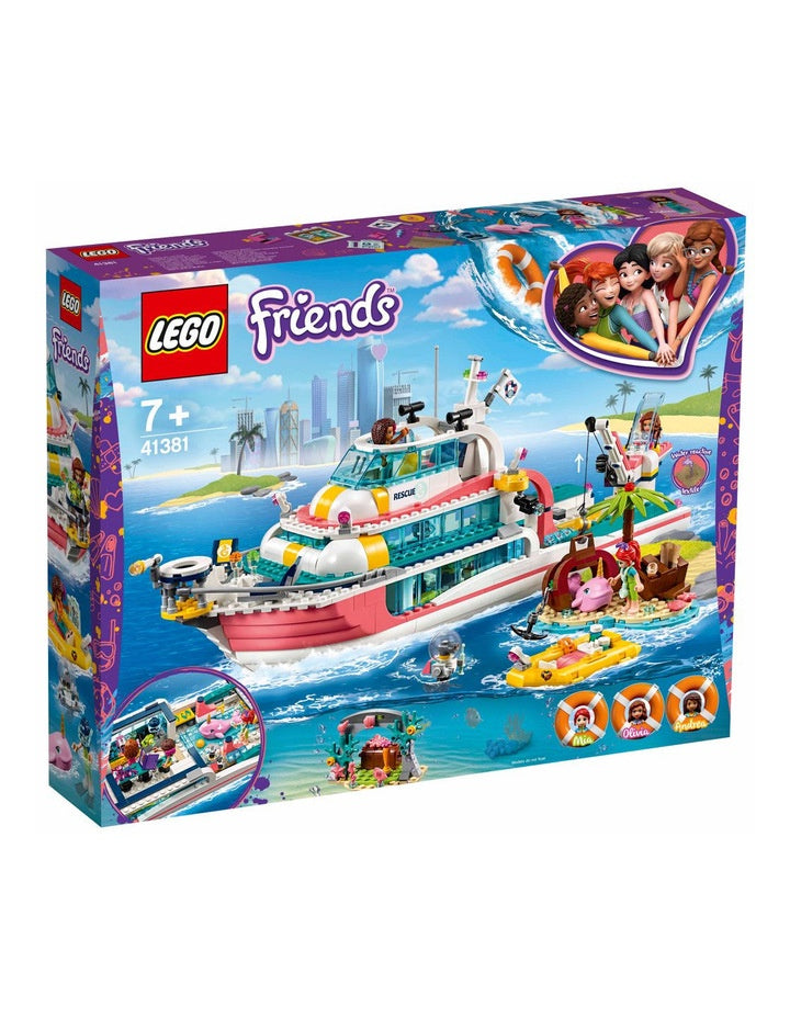 Lego | Friends | 41381 Rescue Mission Boat