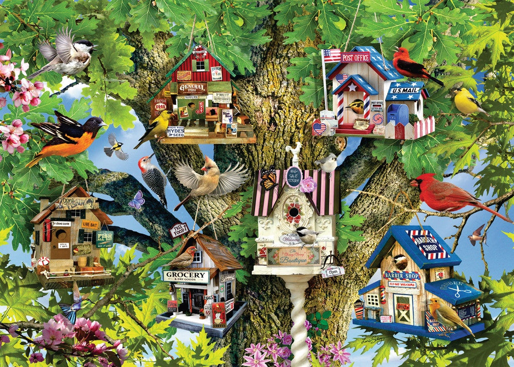 Ravensburger | 1000pc | 196913 Bird Village