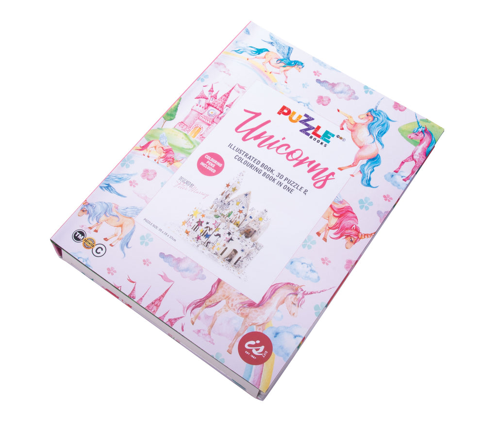 Puzzle Book | Unicorns
