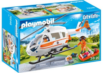 Playmobil | City Life | 70048 Rescue Helicopter