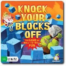 Gamewright | Knock Your Blocks Off