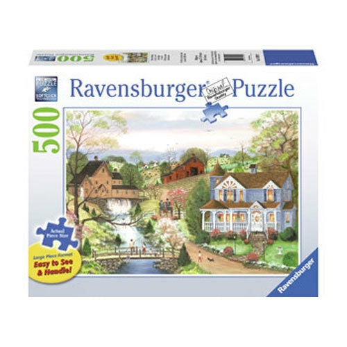 Ravensburger | 500pc | Large Format | 149599 | The Fishing Lesson