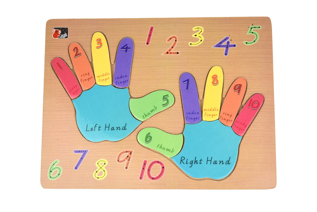 Left Hand Right Hand Puzzle