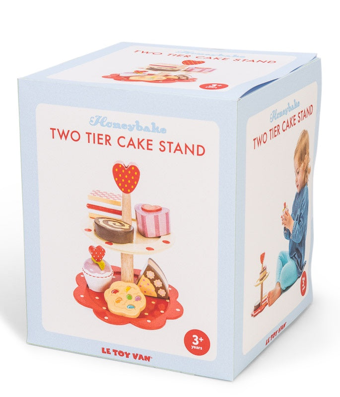 Le Toy Van | Honeybake Two Tier Cake Stand