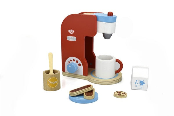 Wooden Coffee Maker Set