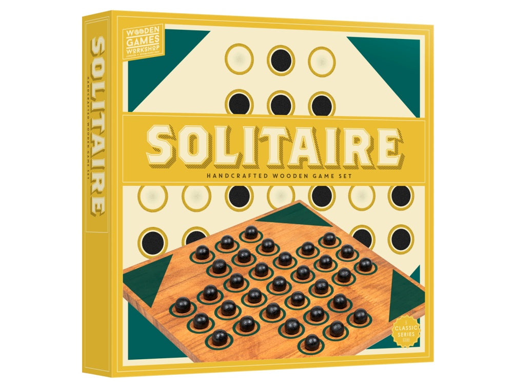 Solitaire | Handcrafted Wooden Game