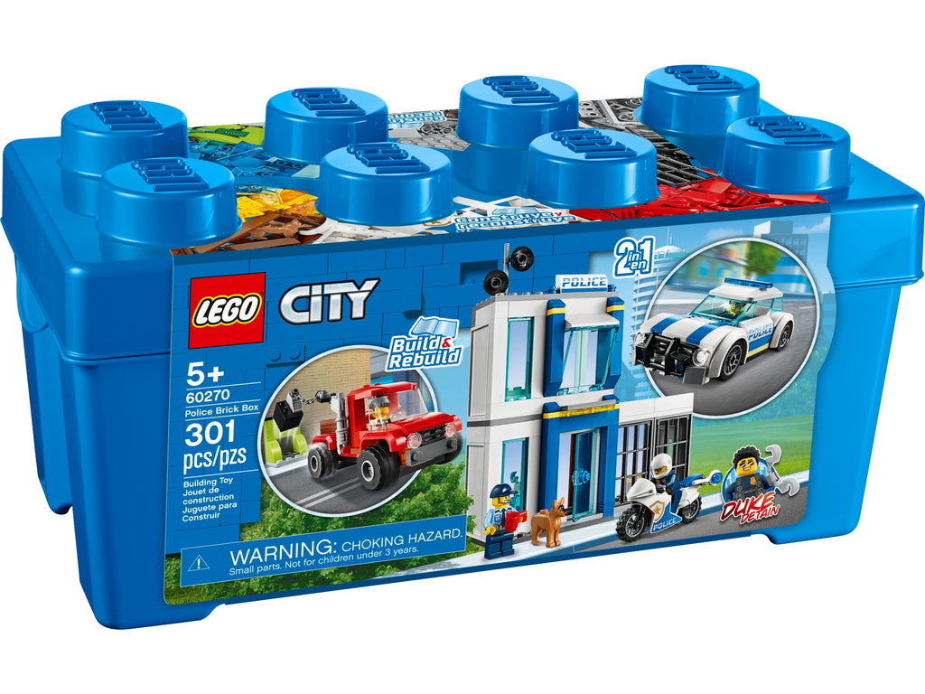 Lego | City | 60270 Police Brick Box