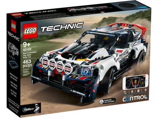 Lego | Technic | 42109 | App controlled Top Gear