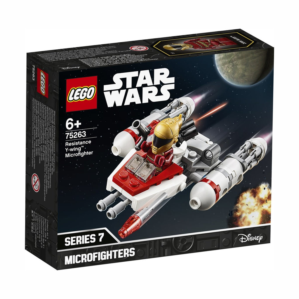 Lego | Star Wars | 75263 Resistance Y Wing Microfighter