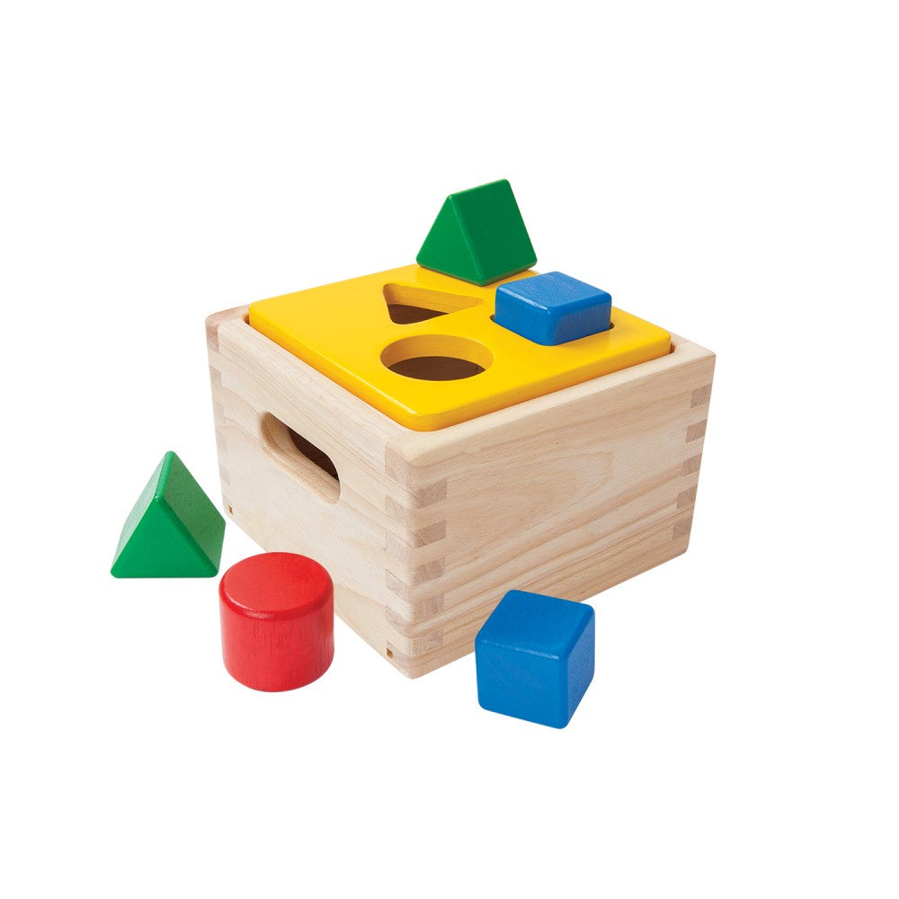Plan Toys |  Shape & Sort It Out
