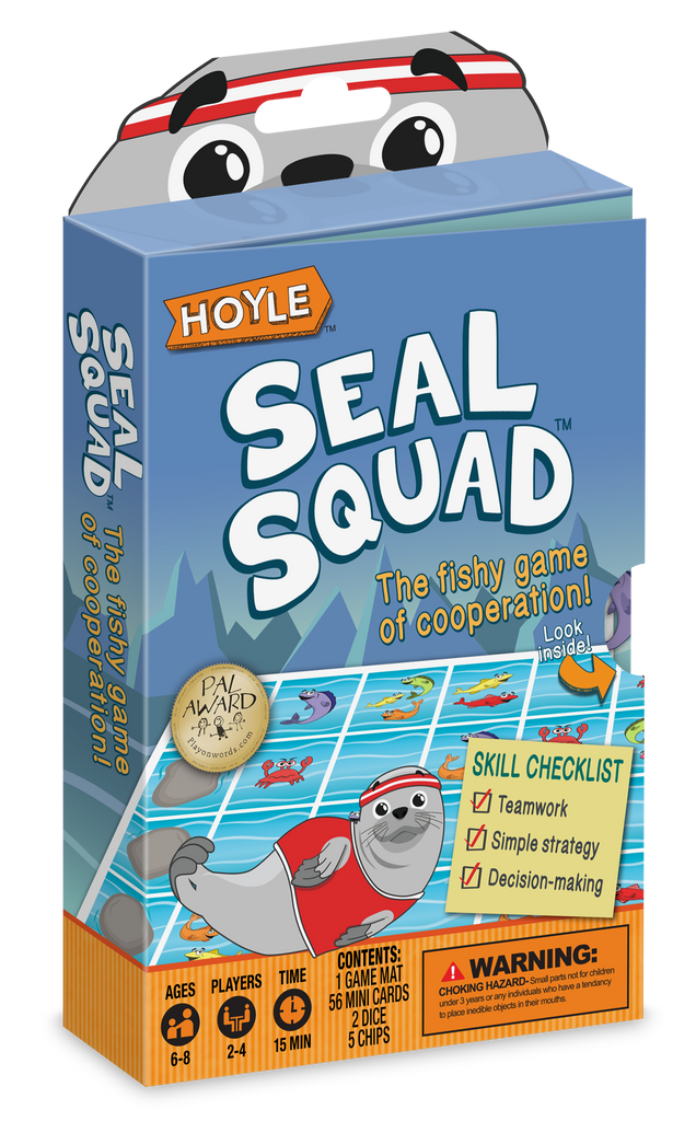 Seal Squad | Cooperation Card Game