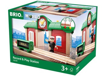Brio | Trains | Record & Play Train Station