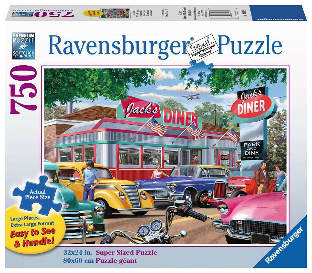 Ravensburger | 750pc | Large Format | 199389 | Meet you at Jack's Place