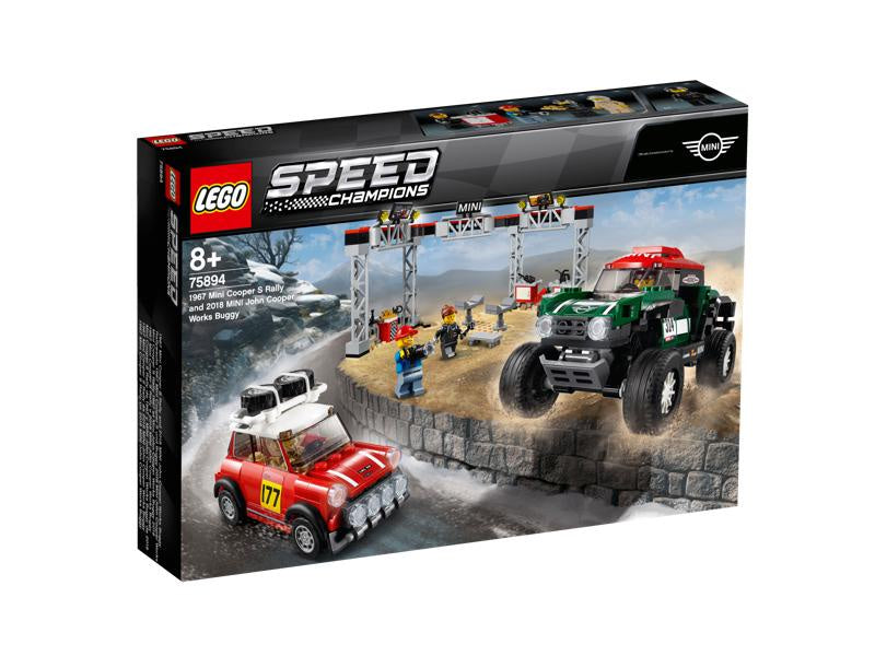 Lego | Speed Champions | 75894 Mini Cooper S Rally and MINI John Cooper Work's Buggy