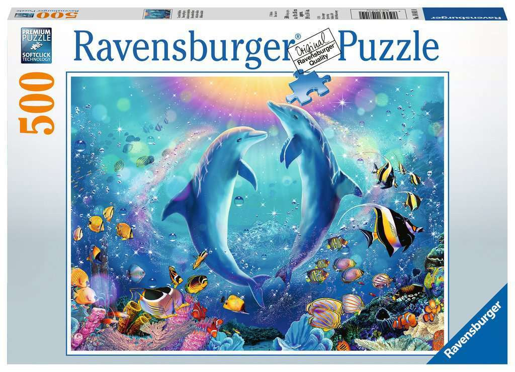 Ravensburger | 500pc |148110 | Dancing Dolphins