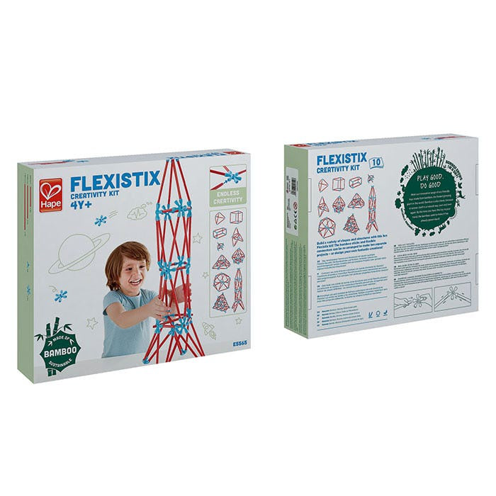 Hape | Flexistix Creativity Kit  133 pieces
