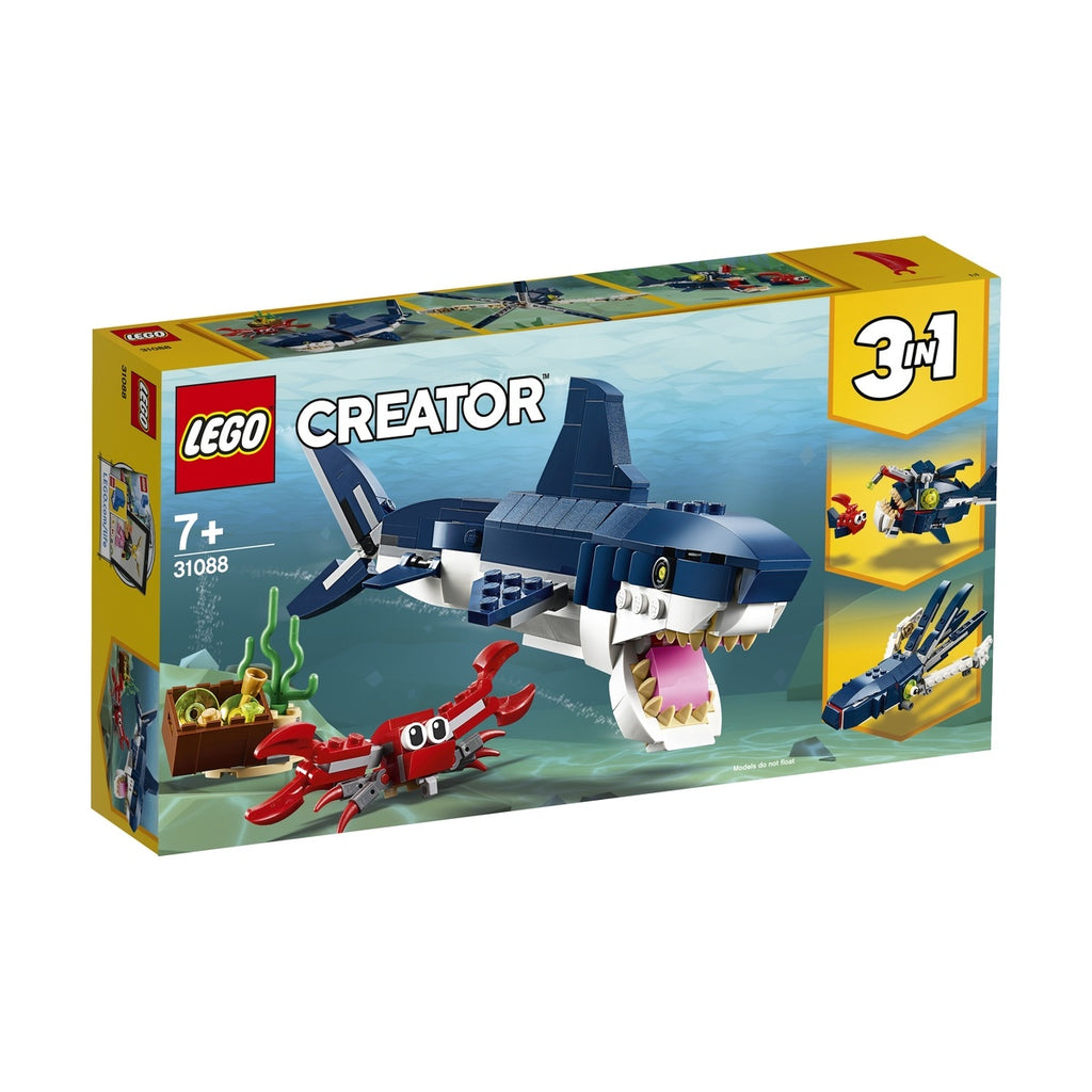 Lego | Creator | 31088 Deep Sea Creatures