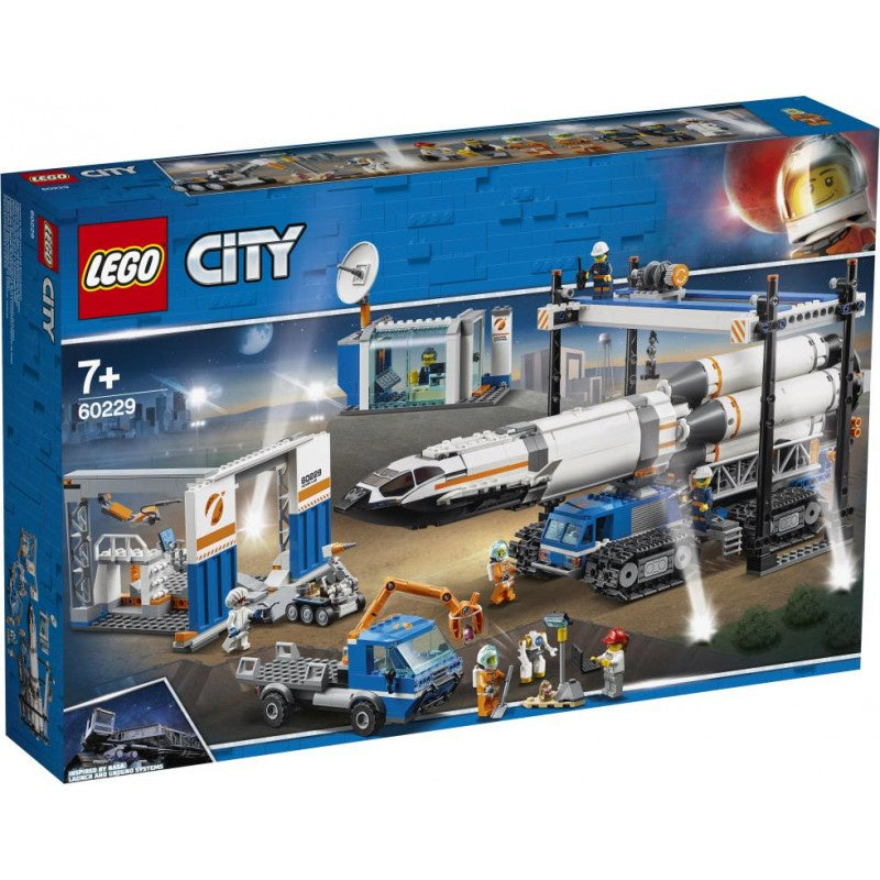 Lego | City | 60229  Space Rocket Assembly & Transport