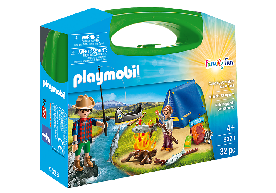 Playmobil | Carry Case | 9323 Camping Adventure