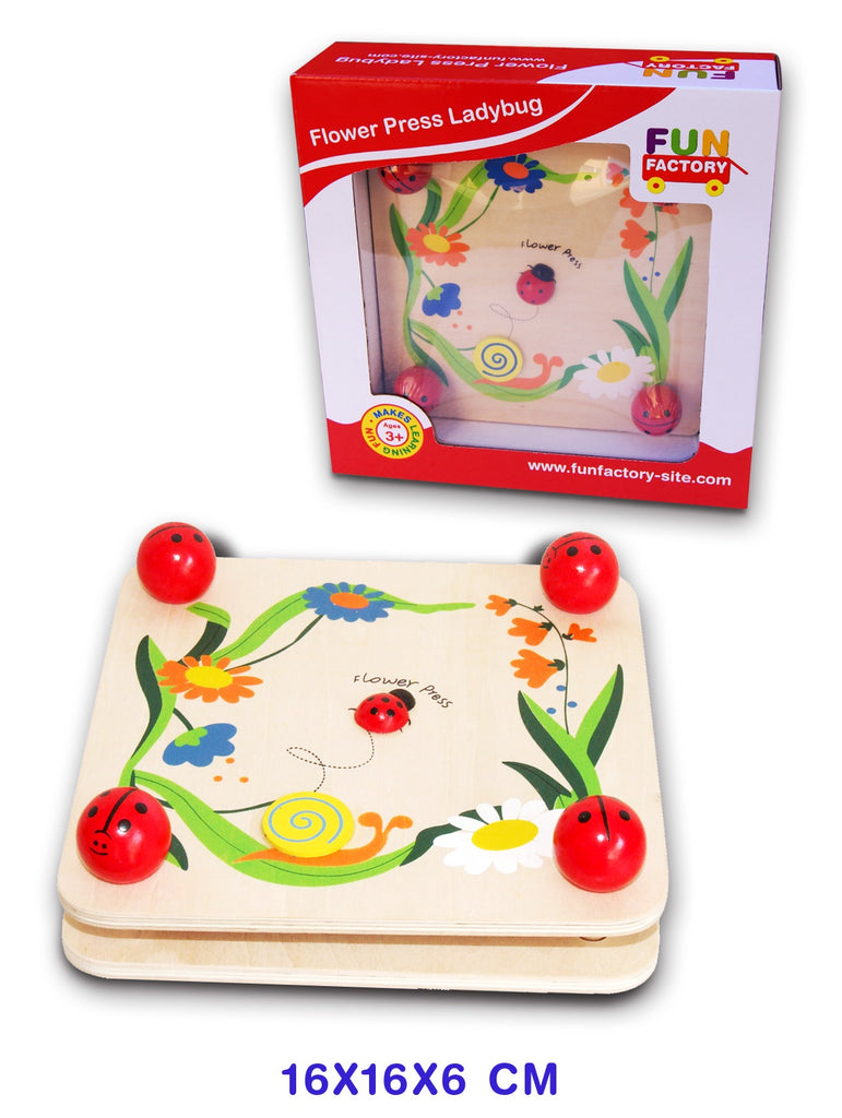 Fun Factory | Flower Press Ladybug