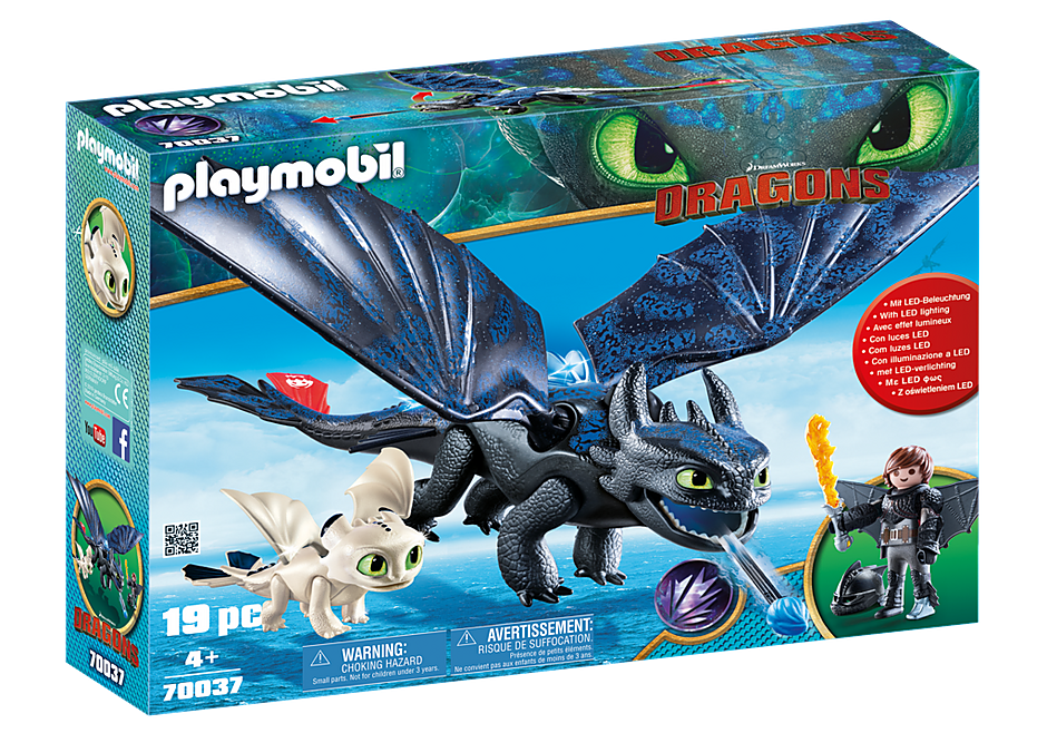 Playmobil | Dragons | 70037 Hiccup and Toothless