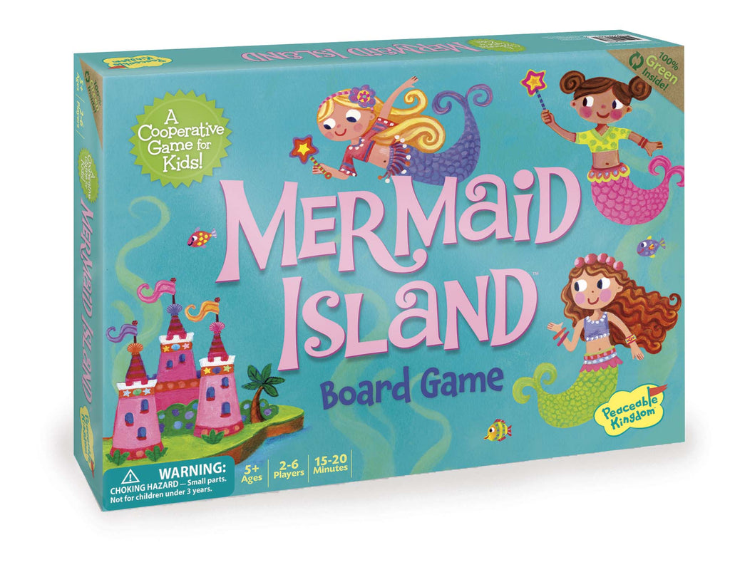 Peaceable Kingdom | Mermaid Island | Co-Operative Game