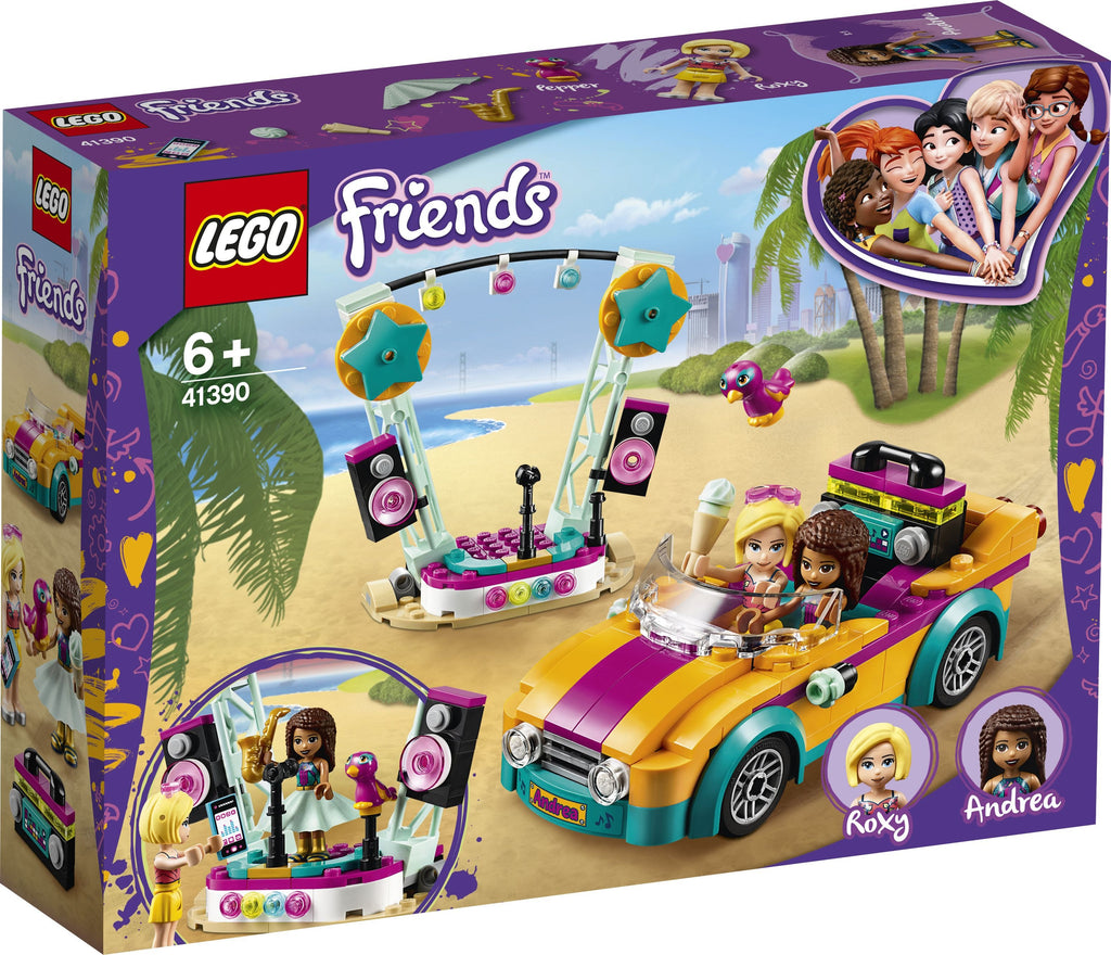 Lego | Friends | 41390 | Andrea's Car and Stage