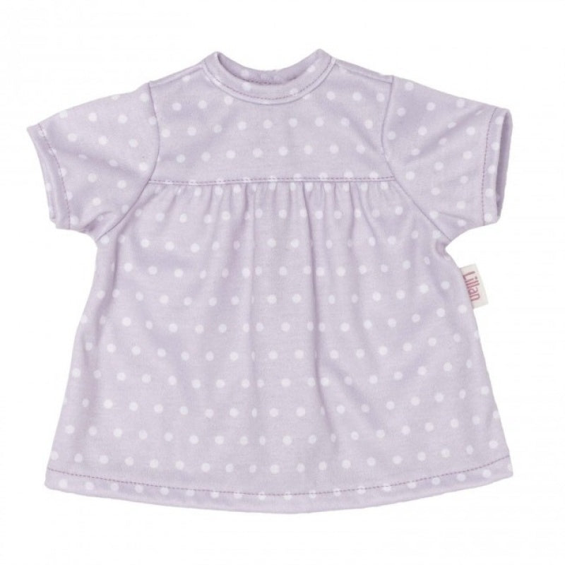 Skrallan Lillan Maurve Spotty Dress | 36cm