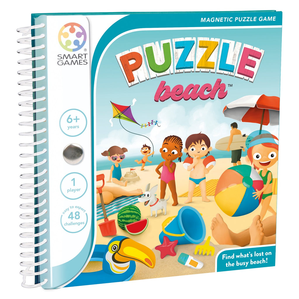 Smart Games | Puzzle Beach - Magnetic Travel Game | Single Player