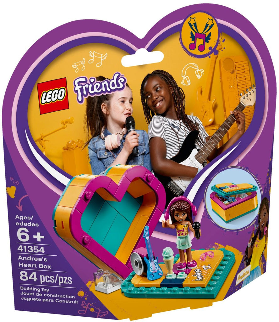 Lego | Friends | Andrea's Summer Heart Box 41354