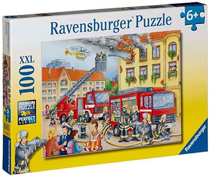 Ravensburger | 100pc | 108220 Fire Brigade